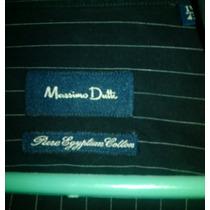 Camisa Vestir Mossimo Dutti Talla M-l