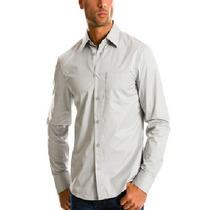 Excelente Camisa Armani Exchange Ax Color Gris Talla M