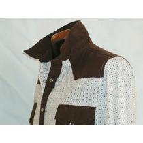 Camisa Vaquera Marca Panino M/l Alg 100% Mod 5118-1 E-shop