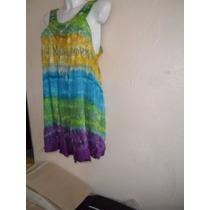 Limpia De Closet Vestido Bluson Hippie Hindu Etnico