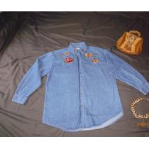 Blusa De Mezclilla Vintage