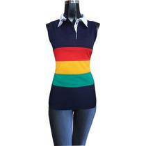 Blusa De Moda Para Dama Playera Ropa Camiseta Polo Sisada