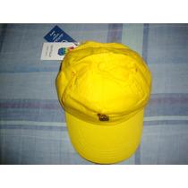 Gorra Marca Gutulo,gabardina. Yellow, Caps & Complements Lab
