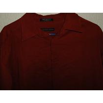 Camisa Geoffrey Beene Sport Botones Ocultos Nueva Talla L