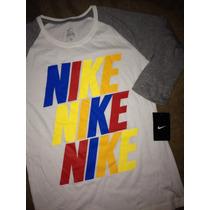 Blusa Camiseta Nike Deportiva Nueva Para Mujer Talla S Chica