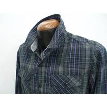 Camisa Vaquera M/l Alg 100% Marca Cty&co