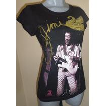 Playera Jimmy Hendrix 2013 Talla Chica Dama.