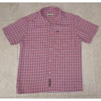 Quicksilver Camisa A Cuadros Para Niños Talla 6/7