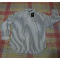Camisa De Vestir Izod 100% Original