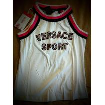 Halter Dama Blusa Versace Sport Grande Originakb