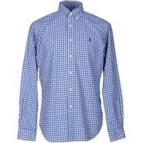 Ralph Lauren, Muy Padre Camisa Azul Talla M Para Caballero