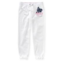 Aeropostale Pants Blanco Capri Para Dama 100% Originales