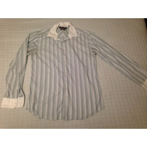 Camisa Perry Ellis Talla Chica Slim Fit Vestir Elegante