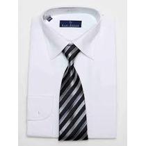 Camisa Ideal Traje Blanca Tallas Extras Xl Cuello 17.5 44/46