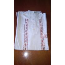Camisa De Manta Bordada Con Hilasa De Chiapas