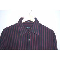 Camisa De Vestir No Iron By Van Heusen T- Xl