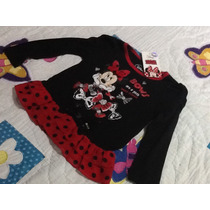Minnie Mouse Blusa Para Niña