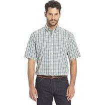 Camisa Arrow Cuello 17-17.5 Cuadros Tallas Extras Xl 42/44