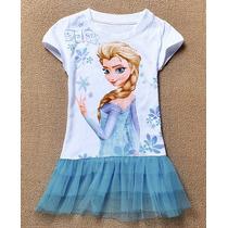Taboö Kid - Blusa Con Olan Elsa Frozen - 5323