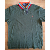 Playera Polo Ralph Lauren Nueva Xl Slim Fit Con Etiquetas
