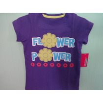 Playera Originals 725 Bordada/ Estampada Niña T-8 Añitos
