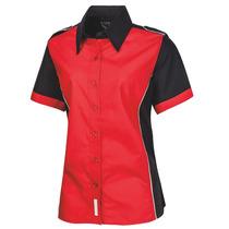 Blusa Escudería Roja Para Dama