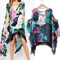 Kimono Moda Mujer Europea