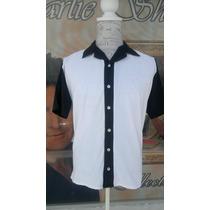 Camisa Boliche Hombre Vintage Charlie Sheen Harper Caballer