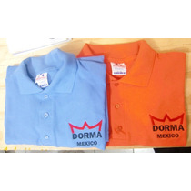 Playeras Tipo Polo Bordadas Au1