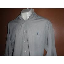 (61) Camisa Polo Ralph Lauren Yarmouth Talla 16 1/2 34/35