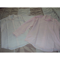 2 Camisas De Hombre Color Rosa Talla 32 Por $70.