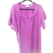 Tallas Extrass Blusa Color Lila Bellisma Avenida $650..00