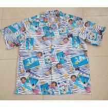 Reyn Spooner/american Classic Camisa Talla Xxl Water Polo