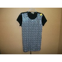 Blusa Casual Bordada Con Chaquira Speckless Talla Xl-36