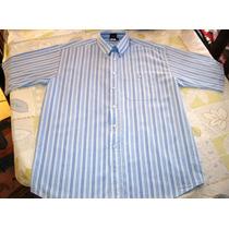 Camisa Para Hombre Giorgio Montana T-40 Color Azul