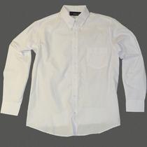 Camisa De Gabardina 100% Algodón