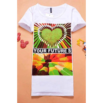 Eisuku 12032406 Playera Colores Love Trendy Asia $339