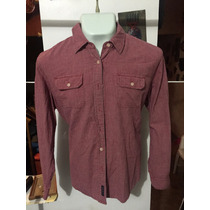 Camisa American Eagle Roja Talla Xl Seminueva 300 *