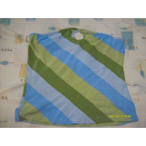 Blusa Strapless Rayas Colores Grande Extragrande