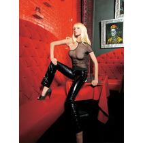 Leg Avenue Blusa De Red Negra Hombro Descubierto 81139