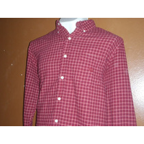 (11) Camisa Chaps By Ralph Lauren Talla L