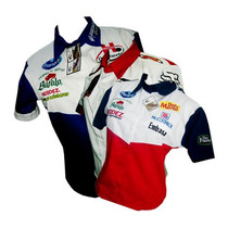 Camisas Tipo F1 Bordadas Escuderia Clubes Empresas Eventos