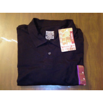 Mossimo, Playera Tipo Polo Xl Negro Ebony