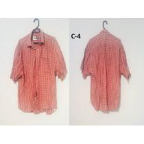Lote De Camisas Caballero M/ Corta Talla G Y M