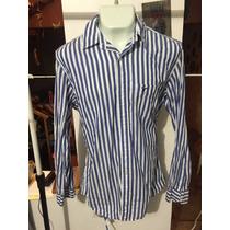 Camisa American Eagle Azul Talla Xl Seminueva 2999 *