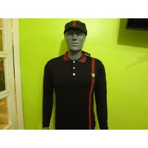 Camisa Polo Gucci Manga Larga