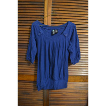 Bluson Holgado Azul Rey Marca Agaci Para Mujer