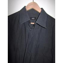 Camisa Hugo Boss L Negro Talla 43