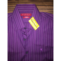 Camisa Manchester Slim Fit Talla S