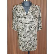 Puritan Camisa Hawaiiana Talla 2xl 100% Rayon